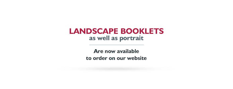 Landscape Booklets