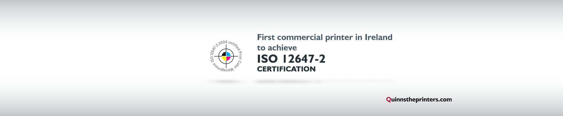 ISO 12647-2 certification