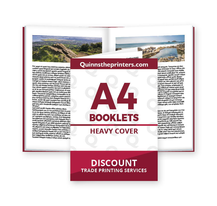 A4 Booklets Heavy Cover Printing