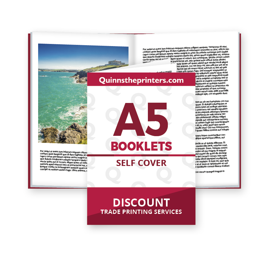 A5 Booklets Self Cover Printing