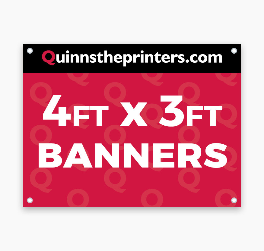 Banners 4ft x 3ft Printing
