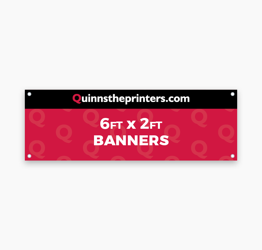 Banners 6ft x 2ft Printing