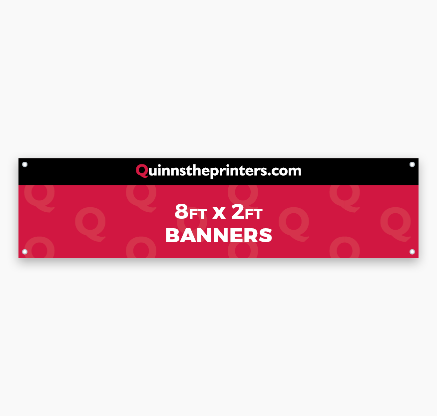 Banners 8ft x 2ft Printing