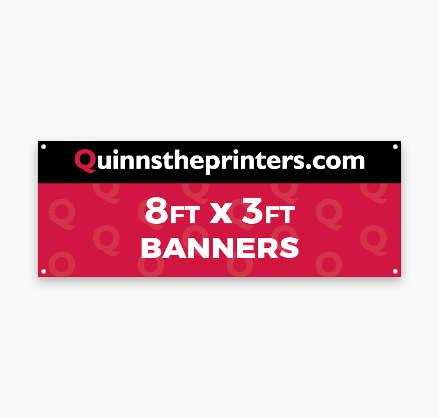 Banners 8ft x 3ft Printing