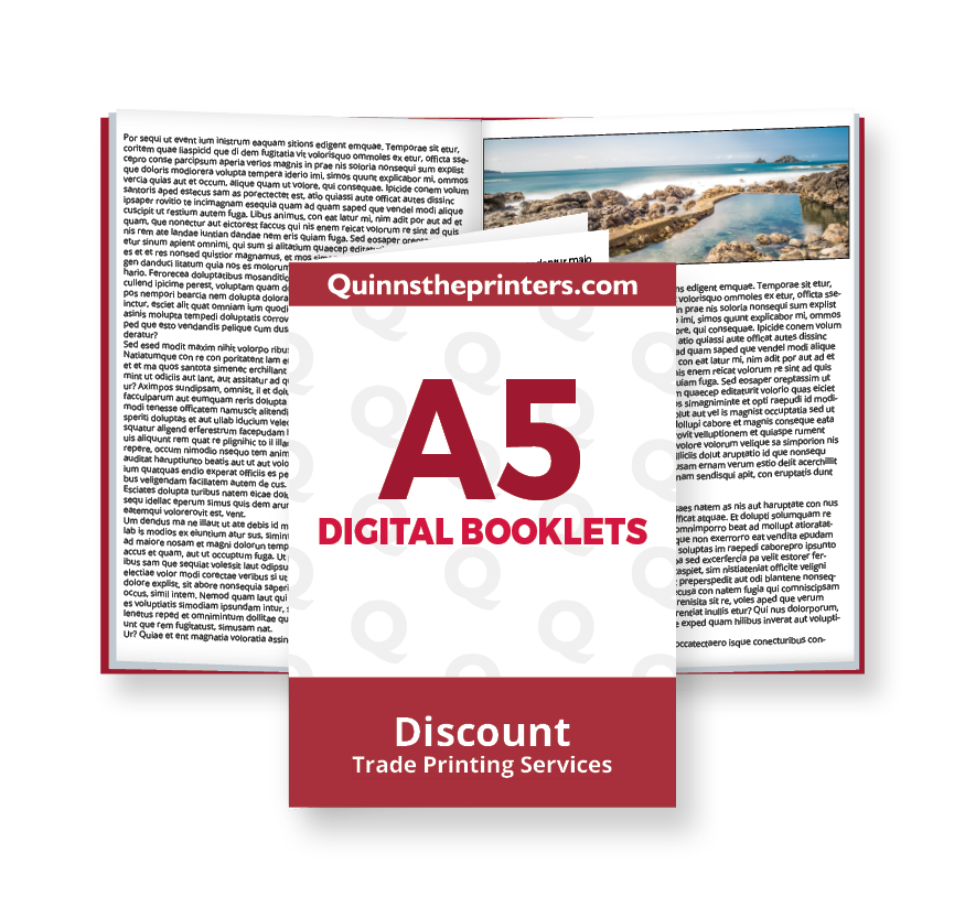 A5 Digital Booklets Printing