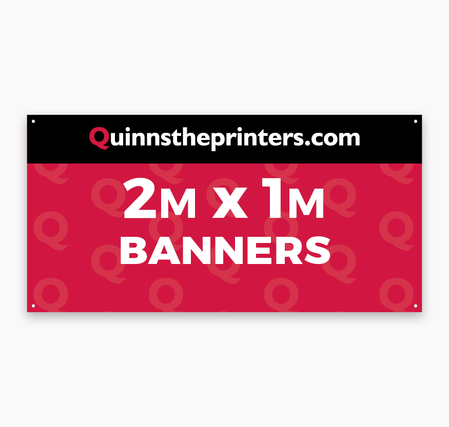 Banners 2m x 1m Printing