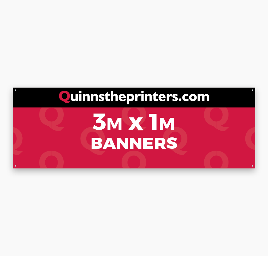 Banners 3m x 1m Printing