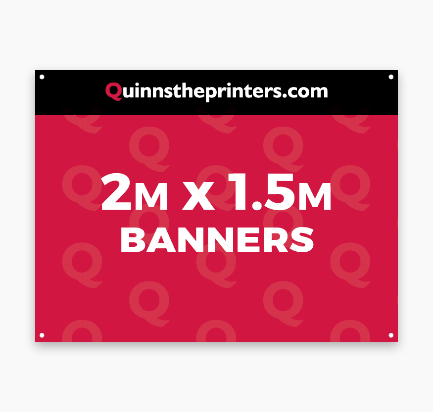 Banners 2m x 1.5m Printing