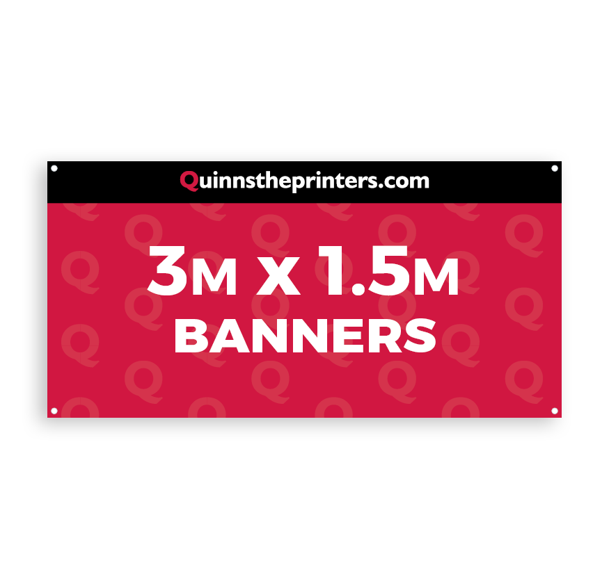 Banners 3m x 1.5m Printing