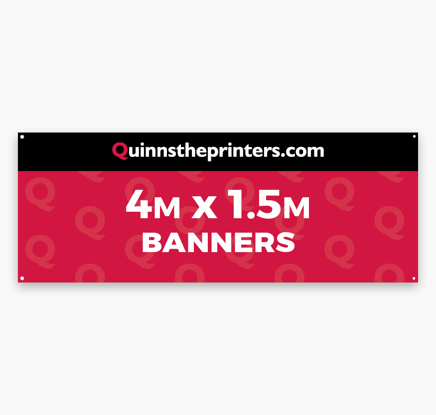 Banners 4m x 1.5m Printing
