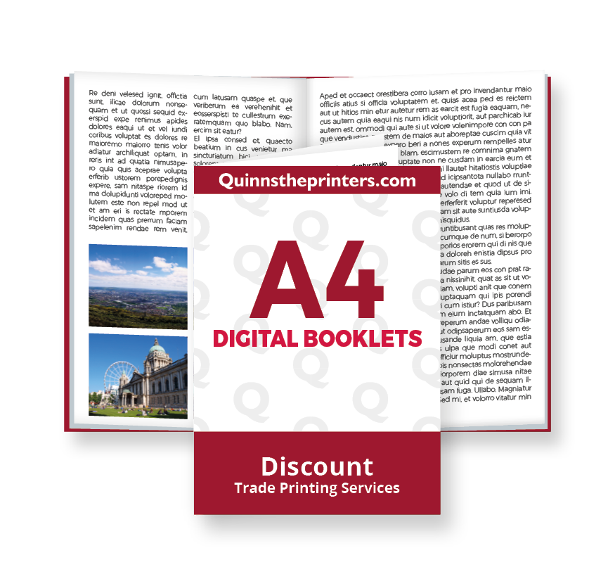 A4 Digital Booklets Printing
