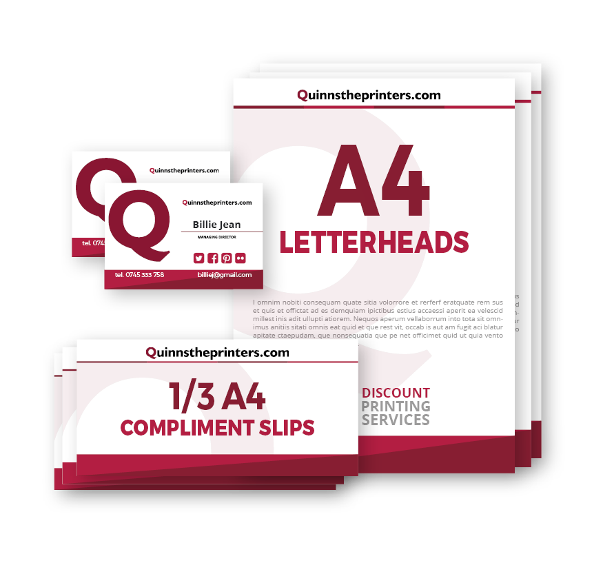 Standard Stationery Pack Printing