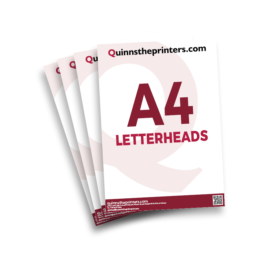 A4 Letterheads Printing