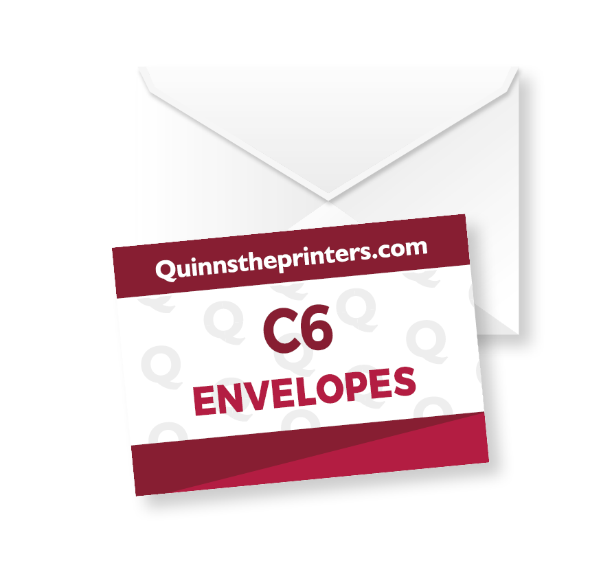 C6 Printed Envelopes Printing