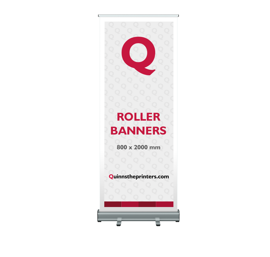 800 x 2000mm Roller Banner Printing