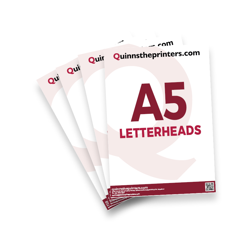 A5 Letterheads Printing