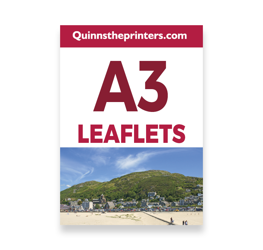 A3 Leaflets Printing