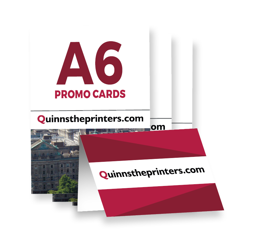 A6 Promo Card Printing