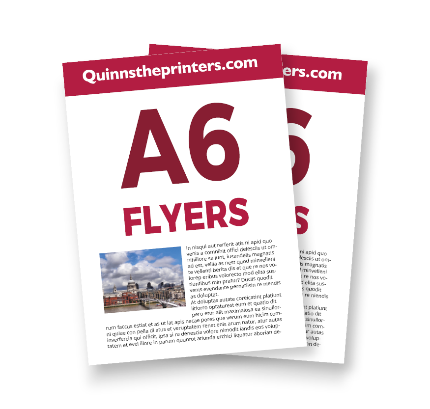 cheap a6 flyer printing for trade