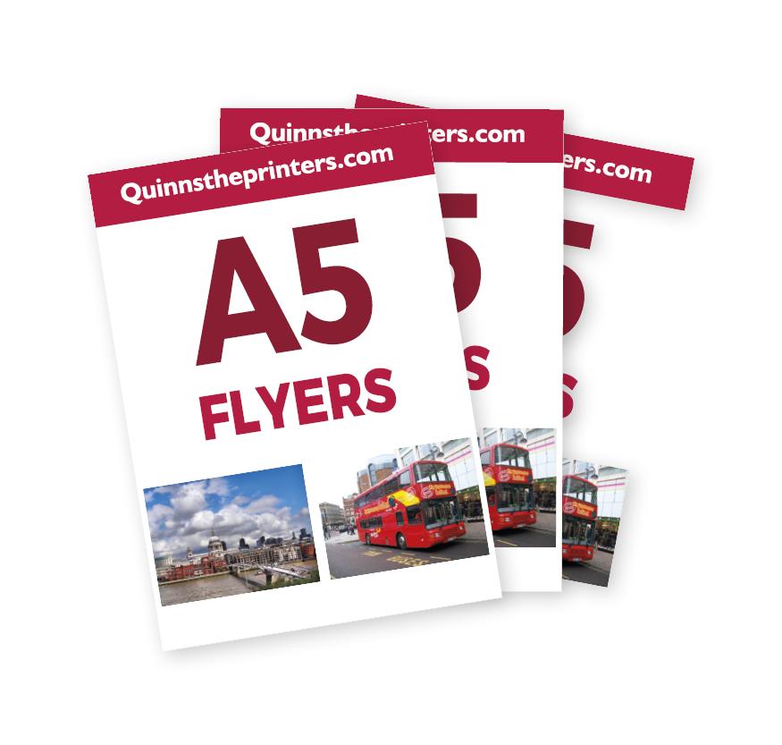 cheap a5 flyer printing for trade quinnstheprinters com