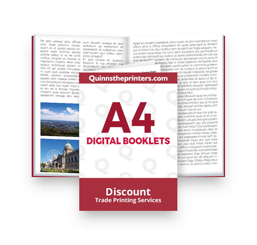 A4 Digital Booklets Heavy Cover Printing