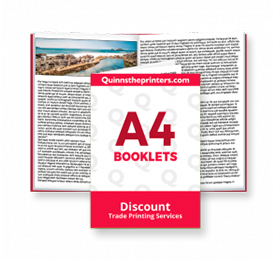 A4 Booklets Trade Printers
