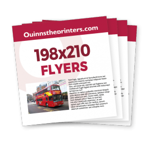 198x210 Flyers Trade Printers