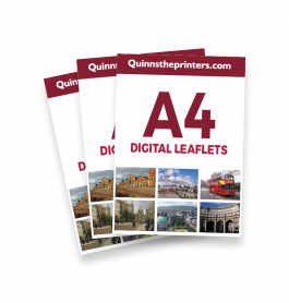 A4 Digital Leaflets Trade Printers