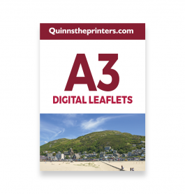 A3 Digital Leaflets Trade Printers
