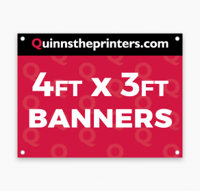 Banners 4ft x 3ft Trade Printers