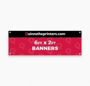 Banners 6ft x 2ft Trade Printers