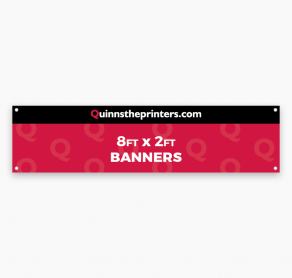 Banners 8ft x 2ft Trade Printers