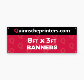 Banners 8ft x 3ft Trade Printers