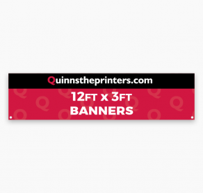 Banners 12ft x 3ft Trade Printers