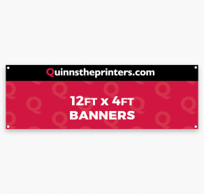 Banners 12ft x 4ft Trade Printers