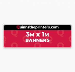 Banners 3m x 1m Trade Printers