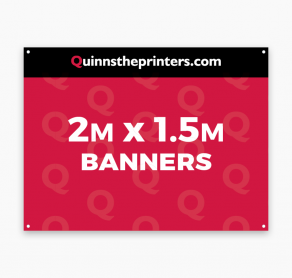 Banners 2m x 1.5m Trade Printers