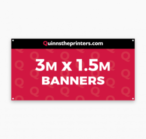 Banners 3m x 1.5m Trade Printers