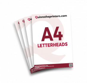 A4 Letterheads Trade Printers