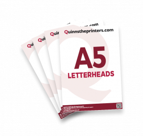 A5 Letterheads Trade Printers