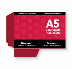 A5 Oversized Folders Trade Printers