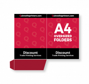 A4 Oversized Folders Trade Printers