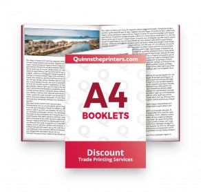 A4 Booklets Heavy Cover Gloss Laminated Trade Printers