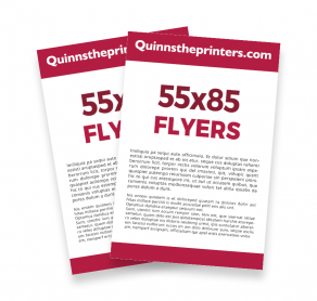 55x85 Flyers Trade Printers