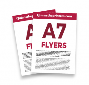 A7 Flyers Trade Printers