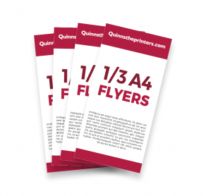 1/3 A4 Flyers Trade Printers