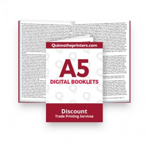 A5 Digital Booklets Self Cover Trade Printers
