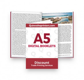 A5 Digital Booklets Heavy Cover Trade Printers