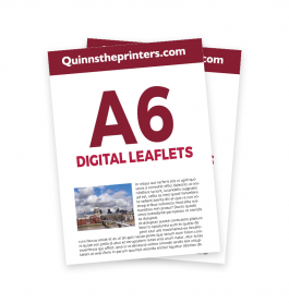 A6 Digital Leaflets Trade Printers