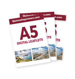 A5 Digital Leaflets Trade Printers